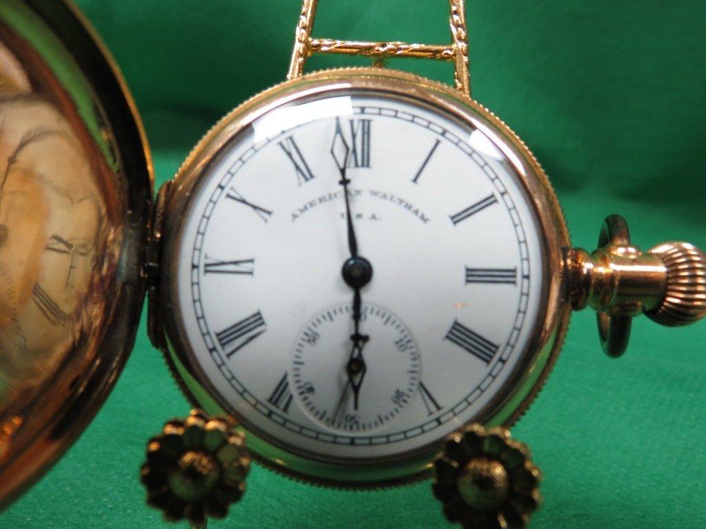1022: Pocket Watch,  America Waltham U.S.A.#949348
