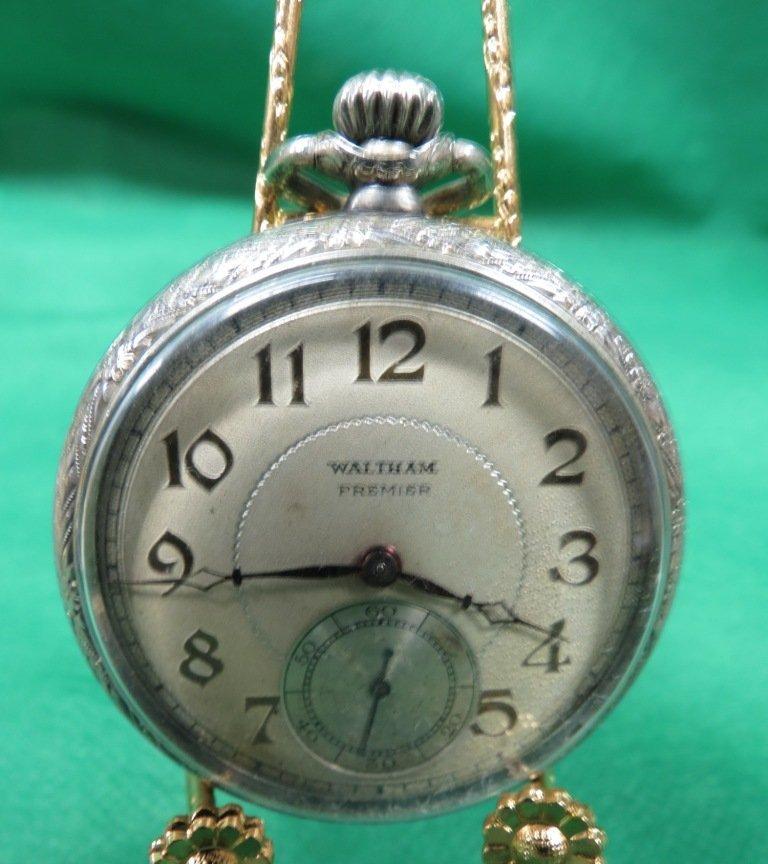 1023: Pocket Watch, Waltham Premier