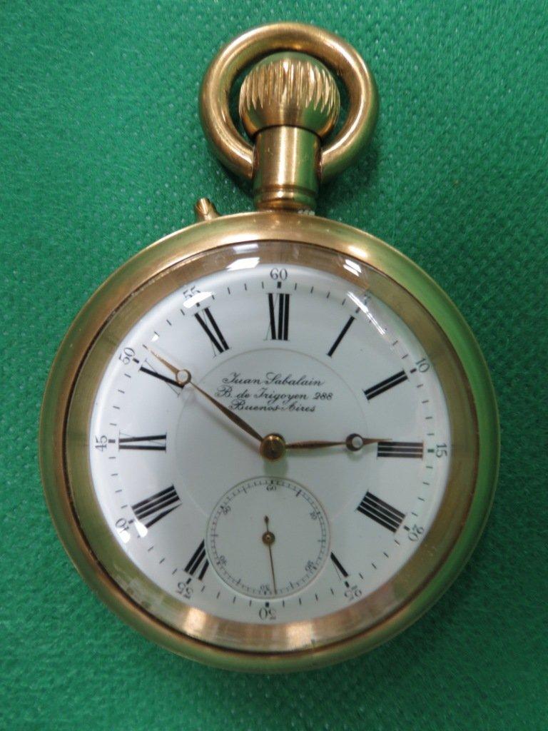 1024: Pocket Watch, Juan Sabalian, Buenos Aires
