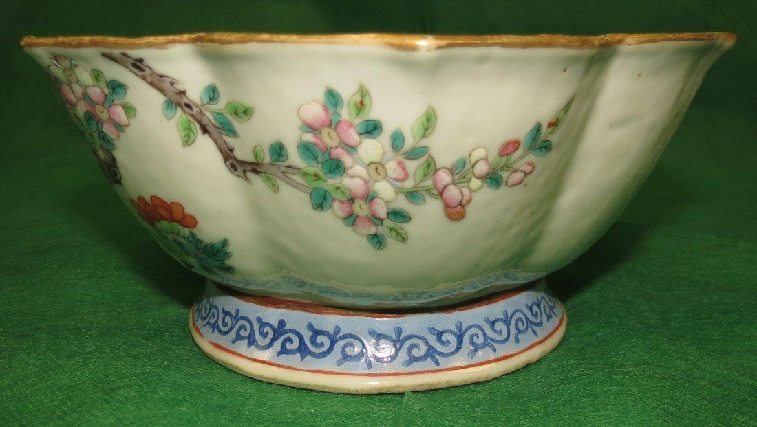 Qing Dinasty Dao Guang Bowl Fam. Rose 1850-80
