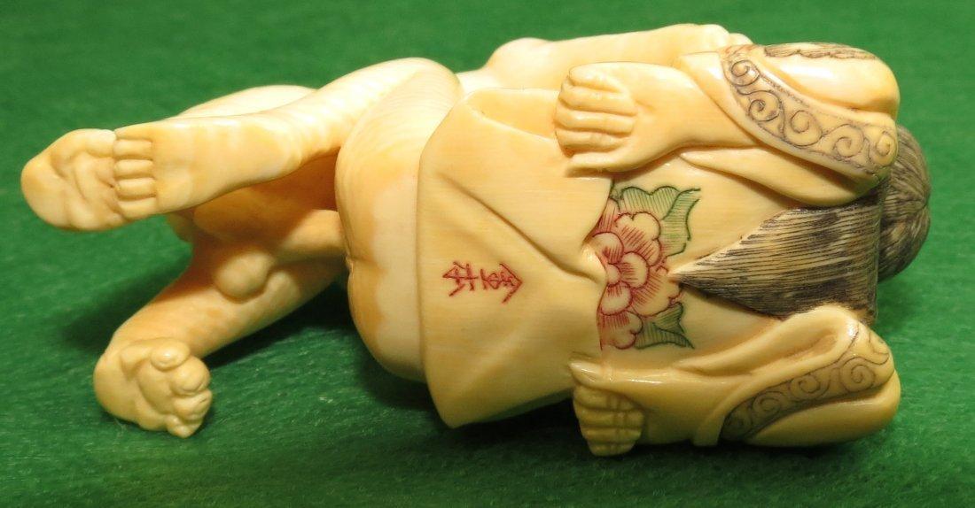 Erotic Ivory Netsuke - 3