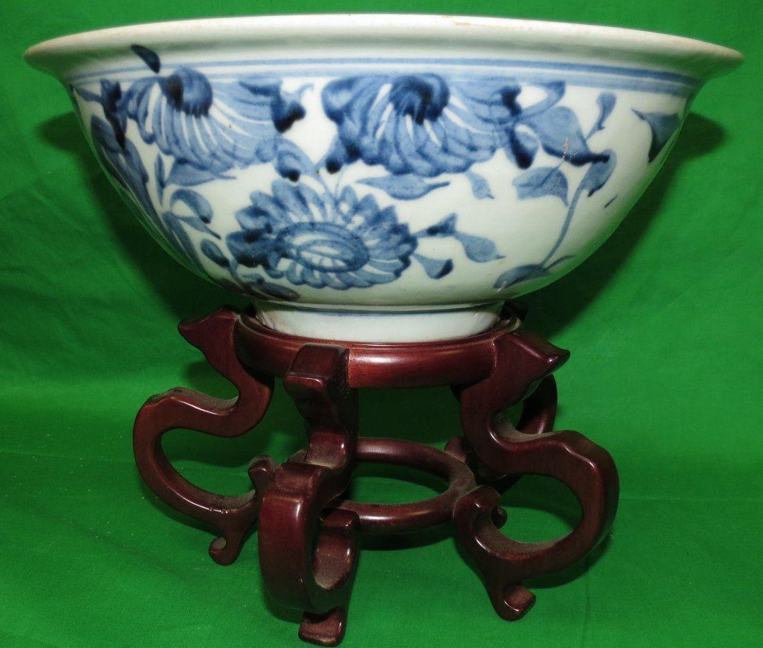 Old Chinese Blue Porcelain (Export) 1800
