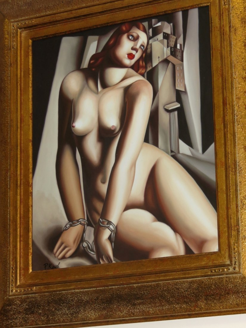 Art Deco Nude Lady