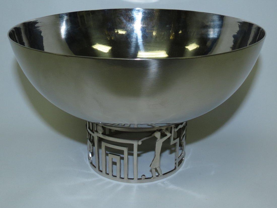 "Hagenauer Art Deco Bowl H: 4""  Dia: 7.5"" Austria"