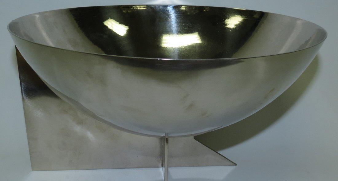 """Maison Desny Art Deco Bowl Signed H: 6"""" Dia: 11"""""""