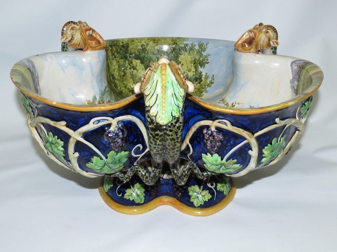 Ginori Mailoca Centerpiece Circa 1870-1900 - 3