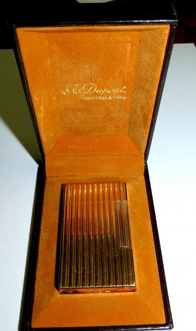 Dupont Goldplated Lighter in original box