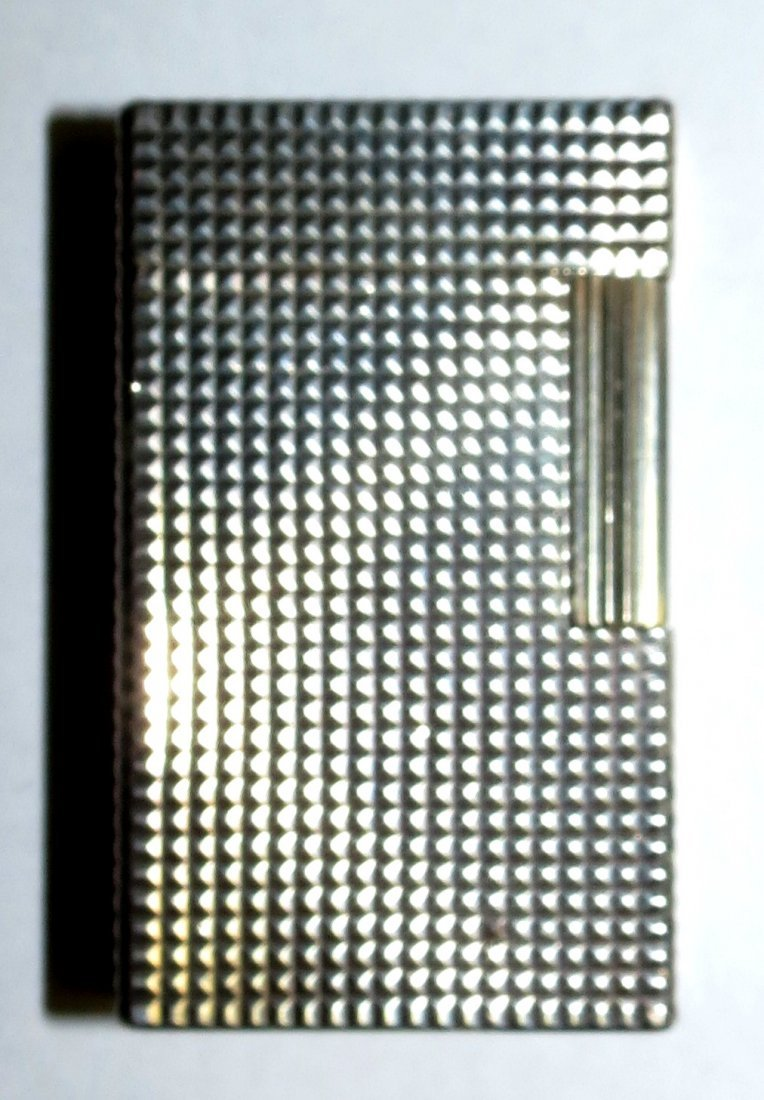 Dupont Silverplated Lighter