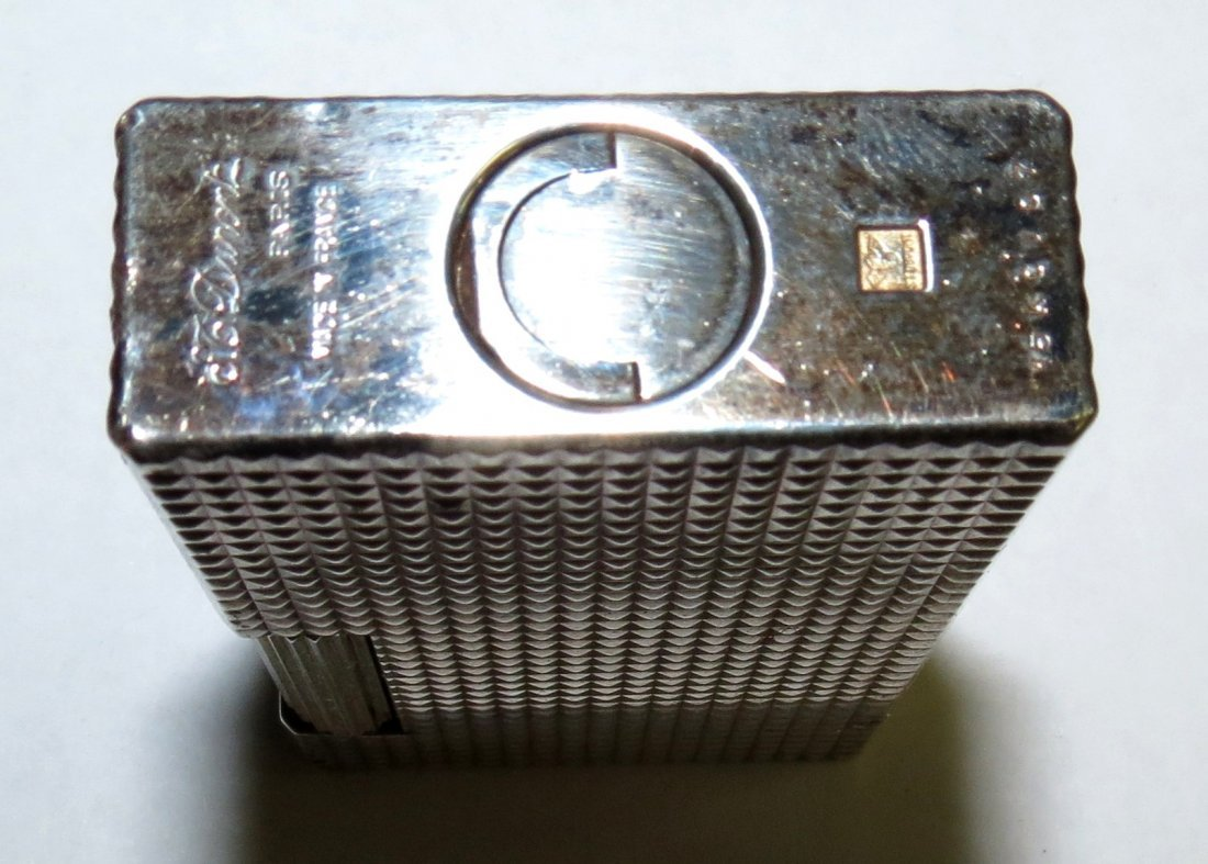 Dupont Silverplated Lighter - 2