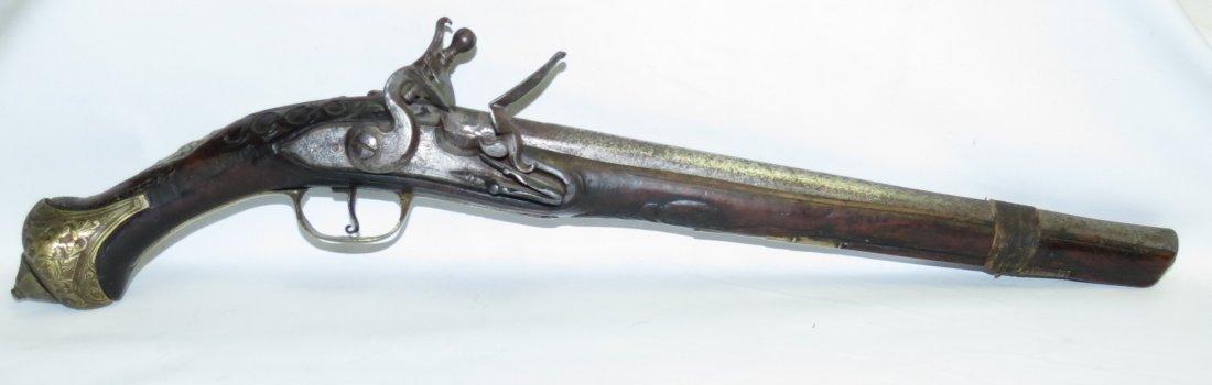 Flintlock Ottoman Pistol