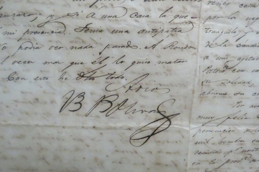 Simon Bolivar Old Signed Letter,  See Pictures. - 2
