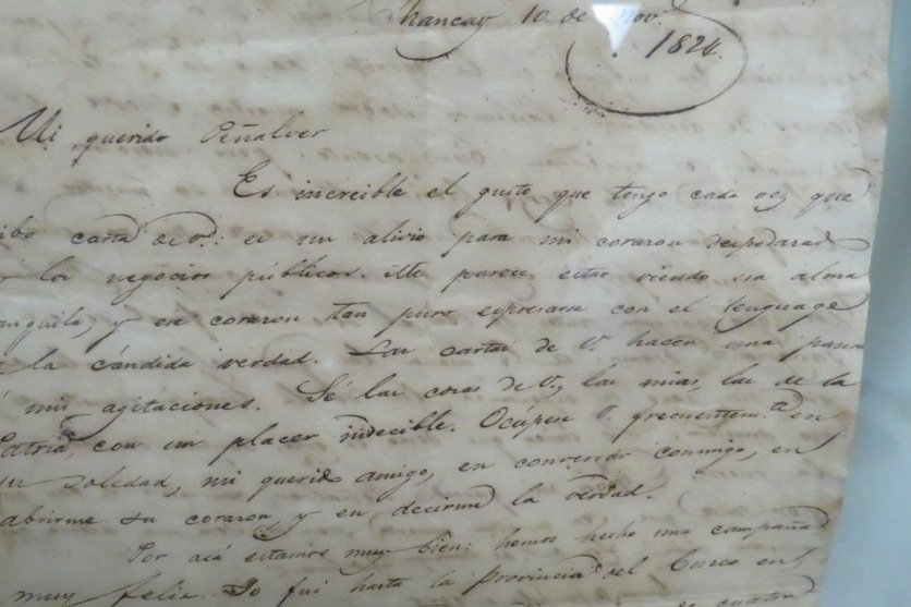Simon Bolivar Old Signed Letter,  See Pictures. - 3
