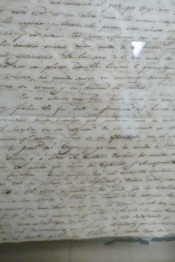 Simon Bolivar Old Signed Letter,  See Pictures. - 4