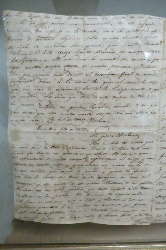 Simon Bolivar Old Signed Letter,  See Pictures. - 5