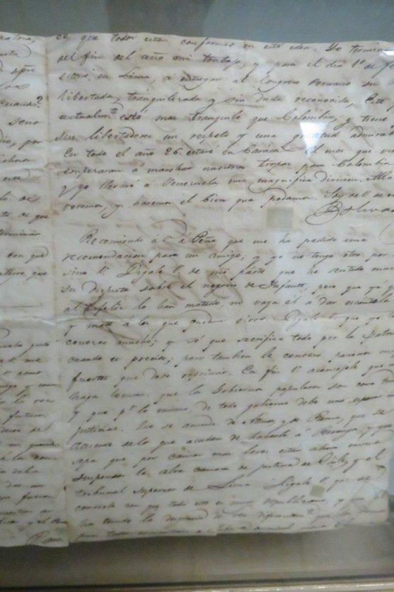 Simon Bolivar Old Signed Letter,  See Pictures. - 6