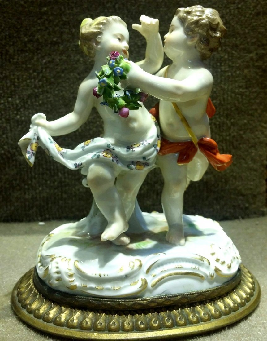 Meissen Couple of Dancers H: 5""