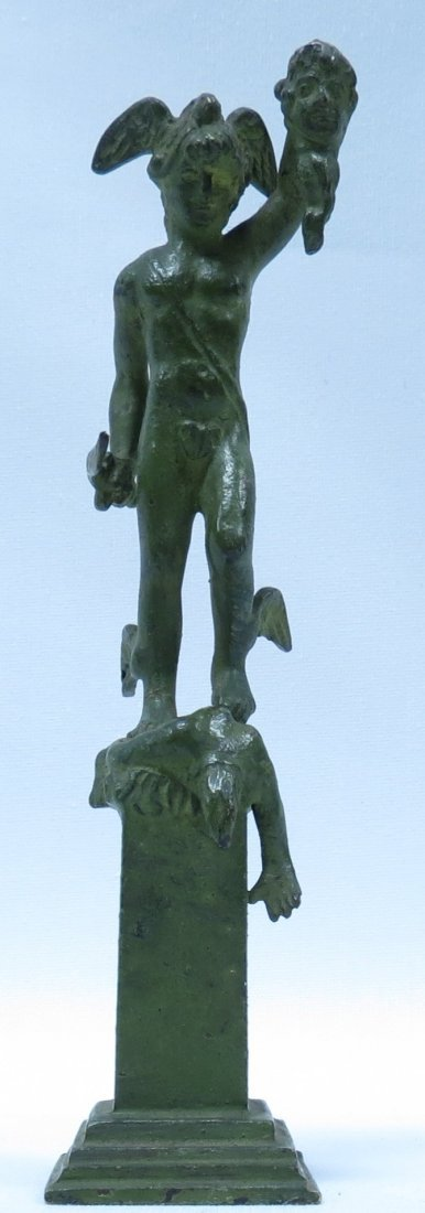 Alegoric Bronze Sculpture - France 1890 H: 5.2""