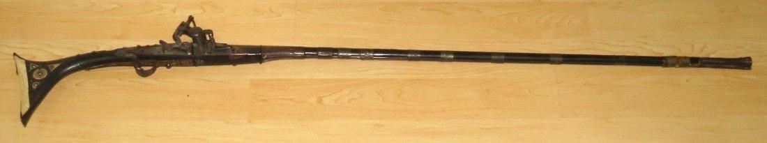 "Flintlock Musket 18th Century Morroccan L: 60"""