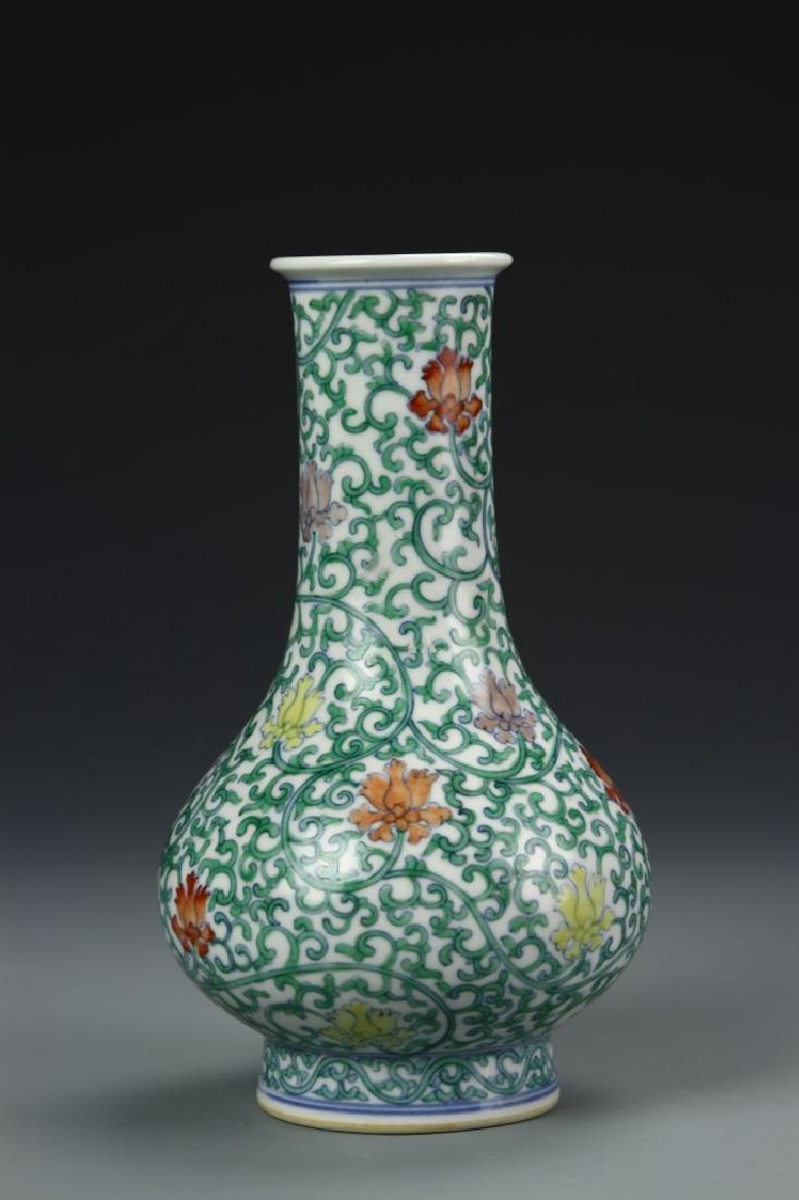 Chinese Doucai Vase - 2