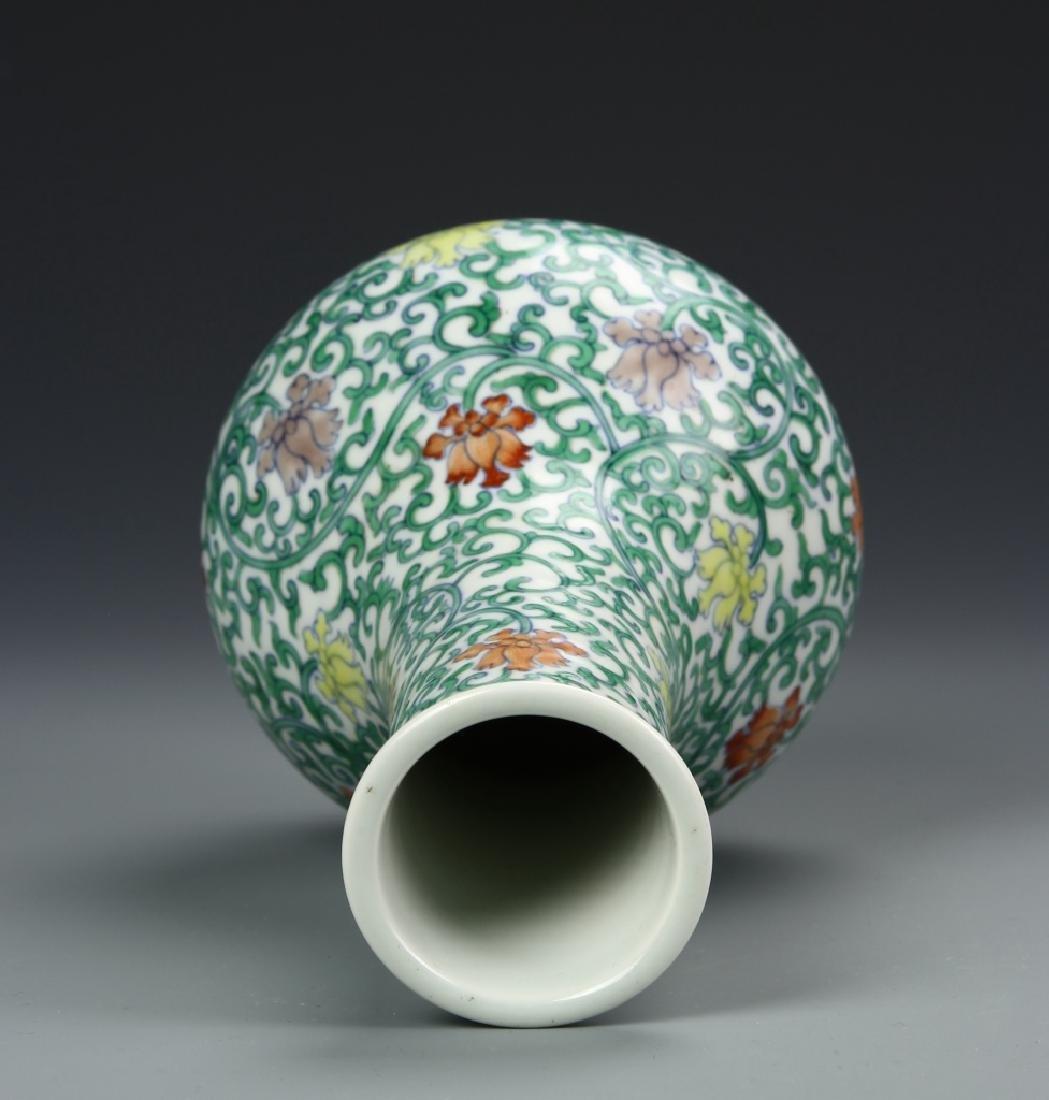 Chinese Doucai Vase - 3