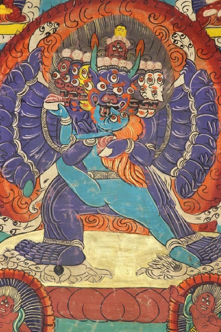 Chinese Tibetan Thangka - 2