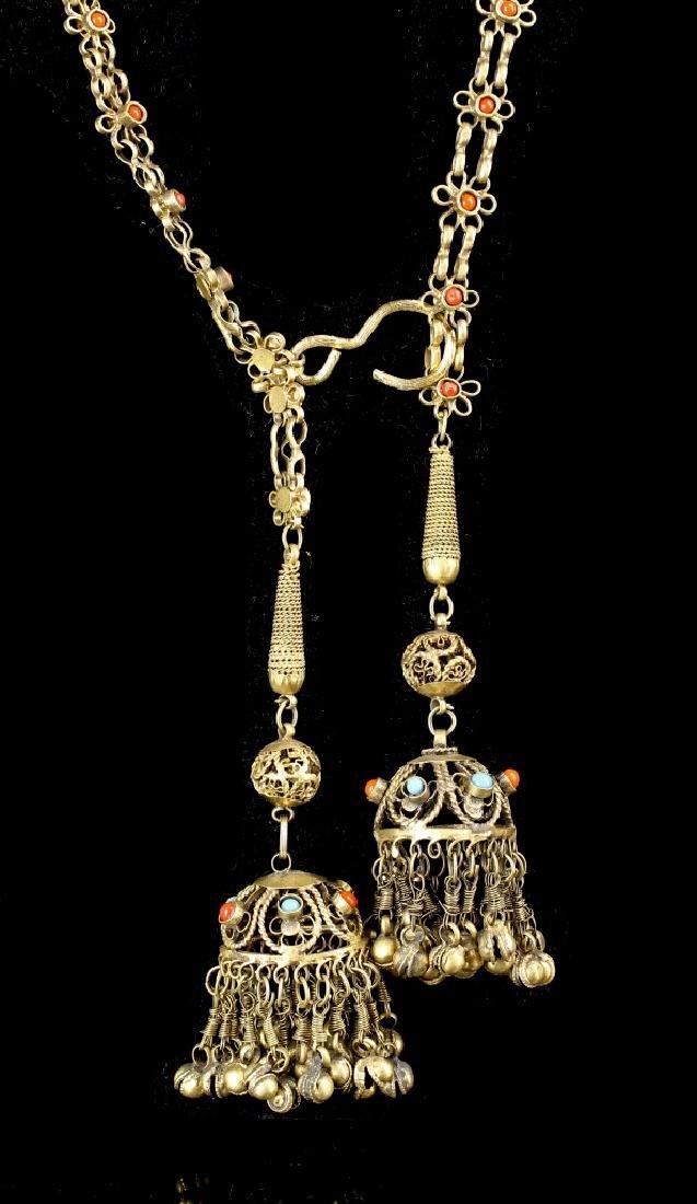 Chinese Tibetan Brass Belt - 2