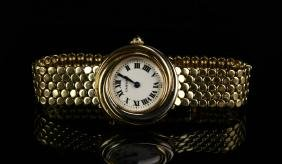 Cartier Ladies Eighteen Carat Gold Watch