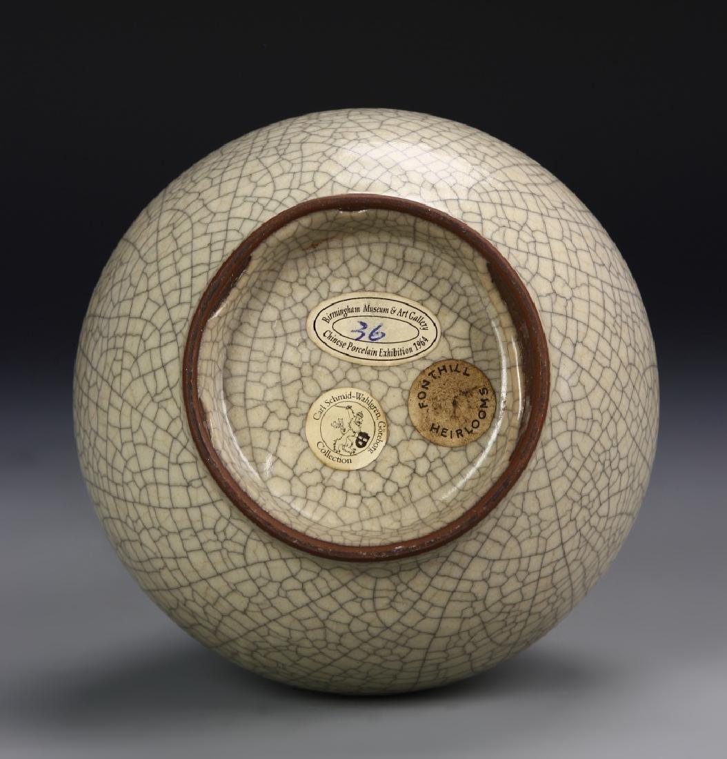 Rare Long Neck Pear-Shape Vase - 5