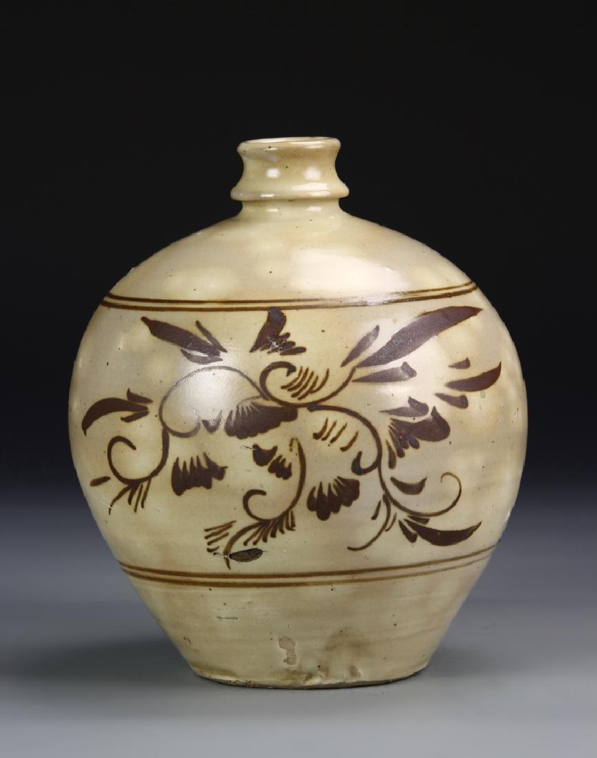 Chinese Cizhou Yao Vase
