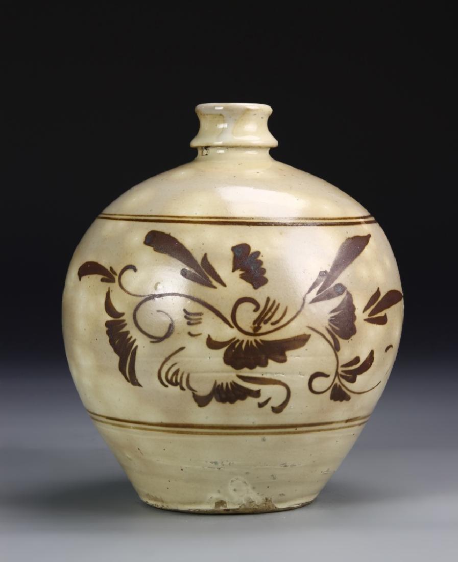 Chinese Cizhou Yao Vase - 3