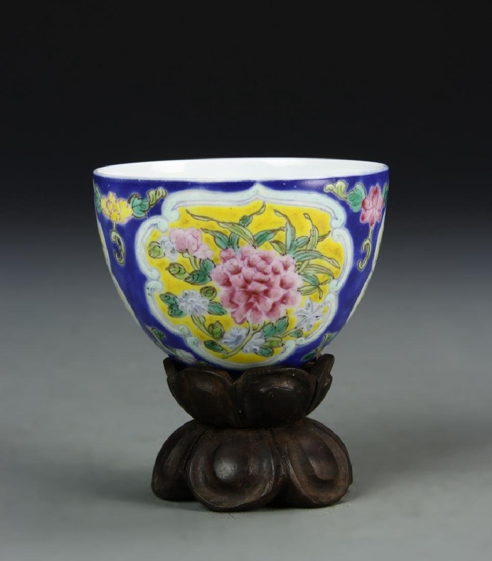 Chinese Enameled Cup