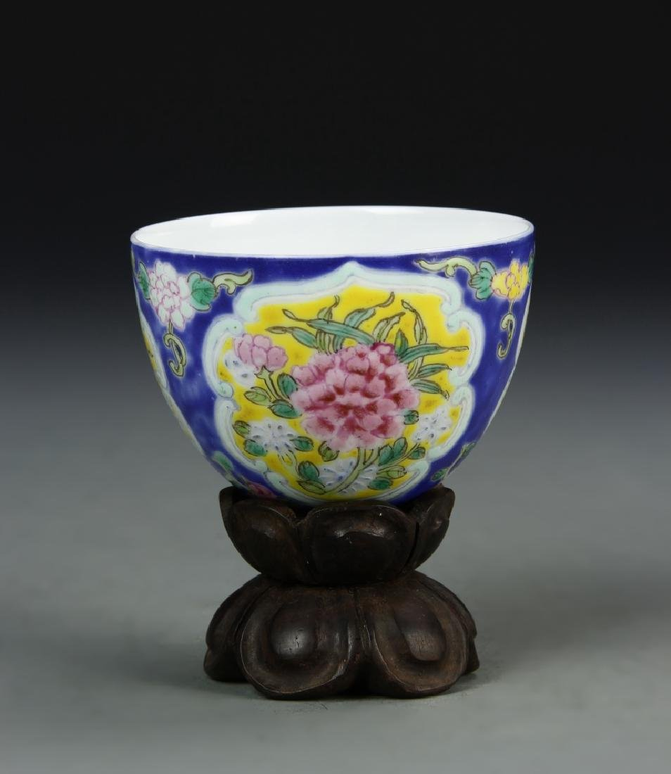 Chinese Enameled Cup - 3