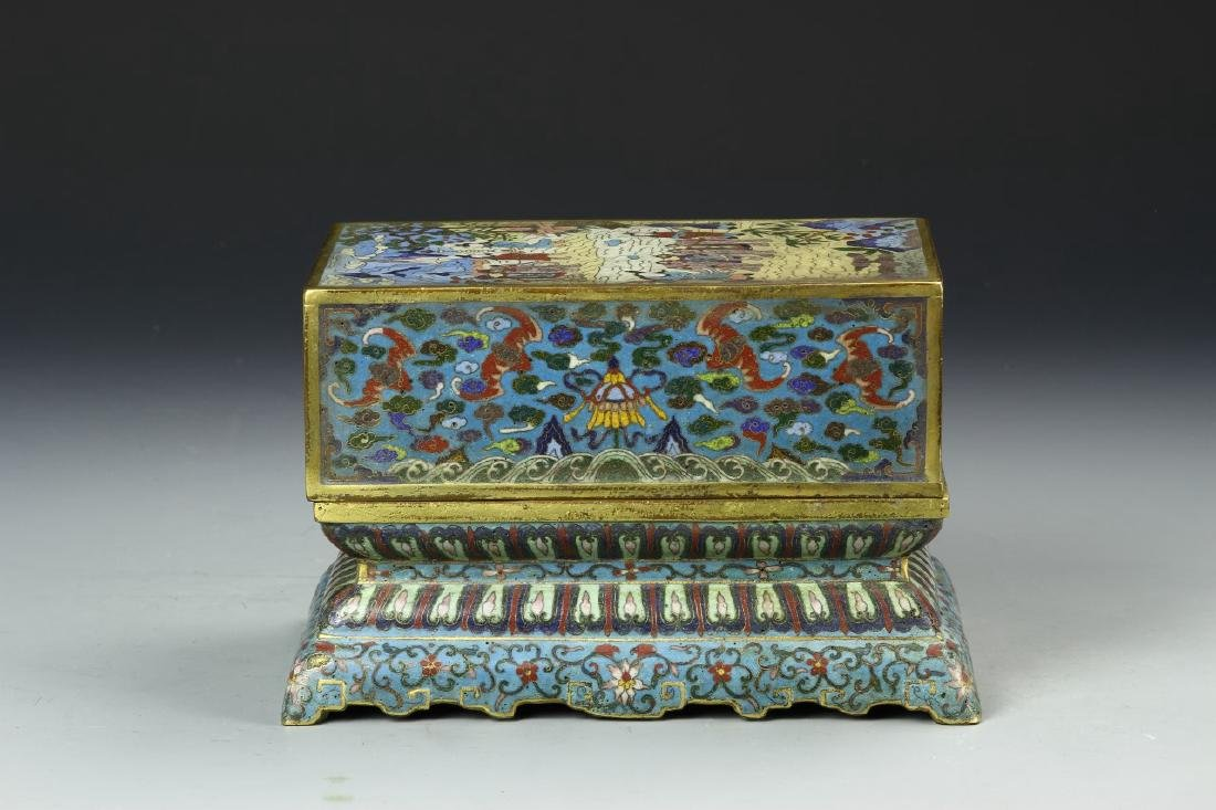 Chinese Cloisonne Box