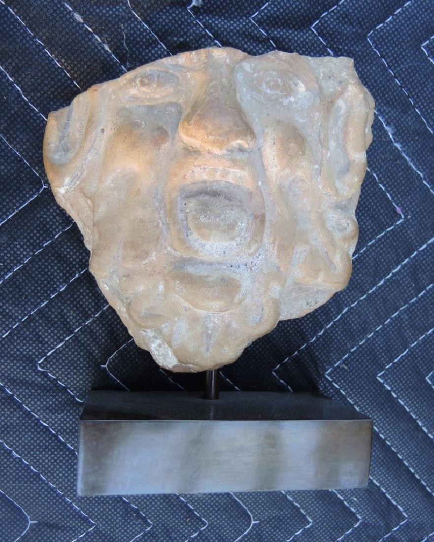 Roman Antique Stone Mask
