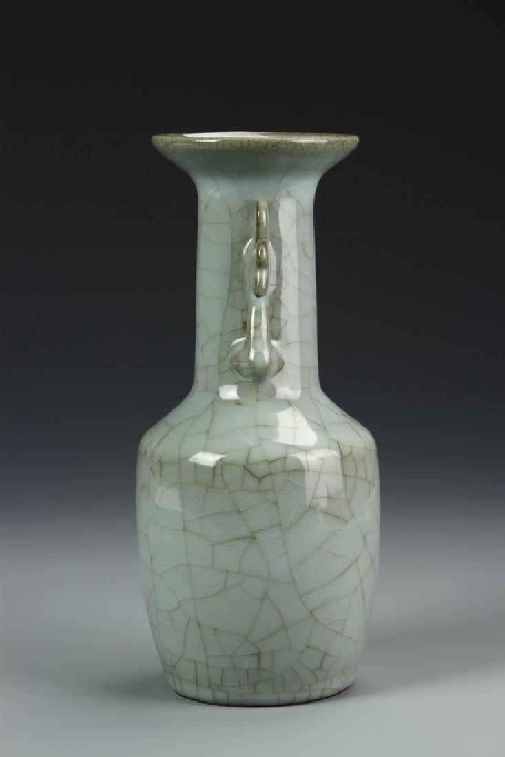 Lungchuan K'uan Ware Mallet Vase - 4