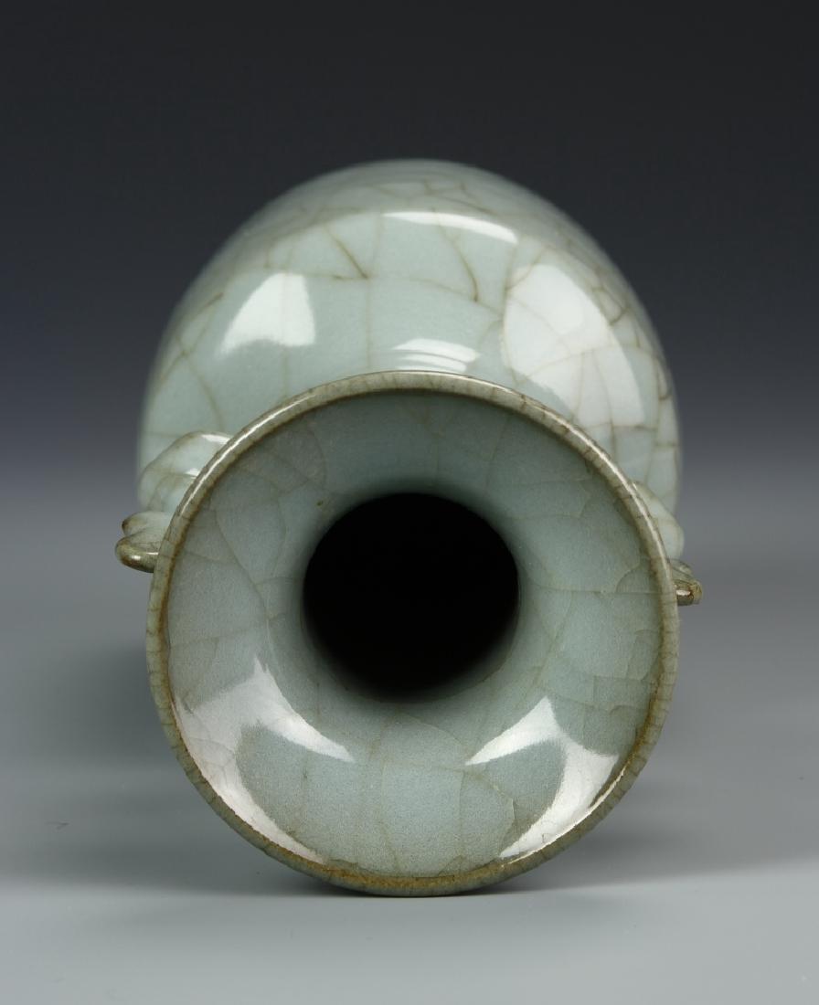 Lungchuan K'uan Ware Mallet Vase - 5