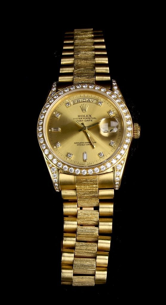 1984 Rolex Gold Watch