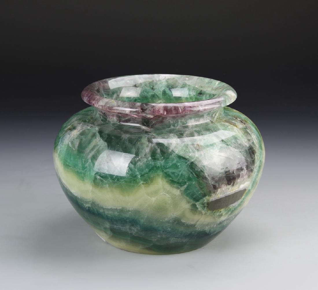 Chinese Tourmaline Jar