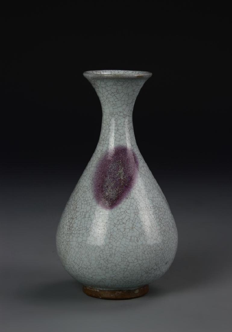 Chinese Jun Yao Yuhuchunping Vase