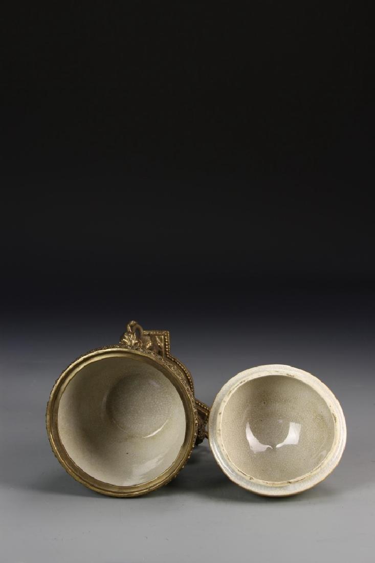 Chinese 19th Century Famille Rose Jar - 3