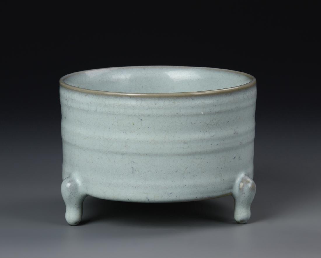Chinese Ru Yao Censer