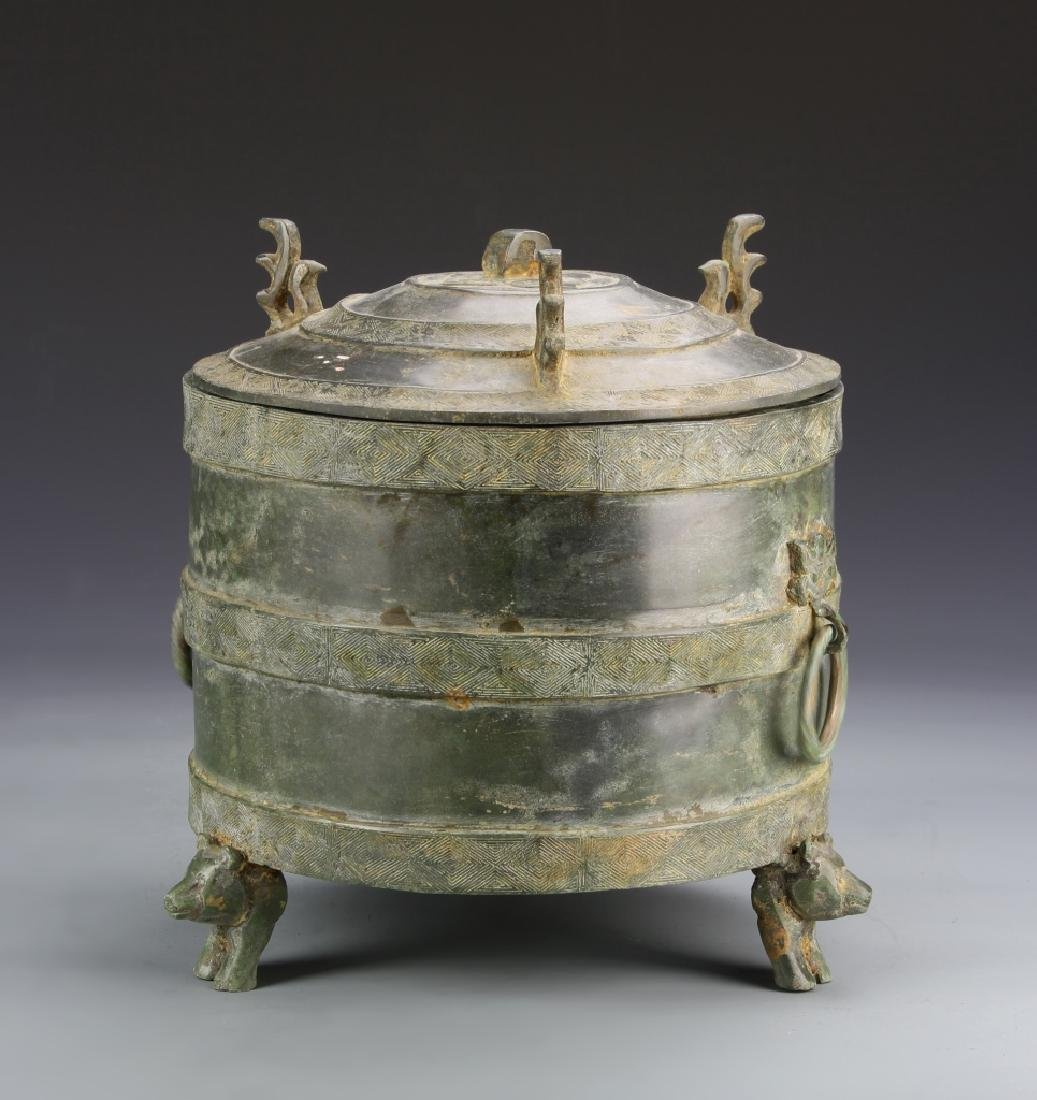 Chinese Bronze Vessel