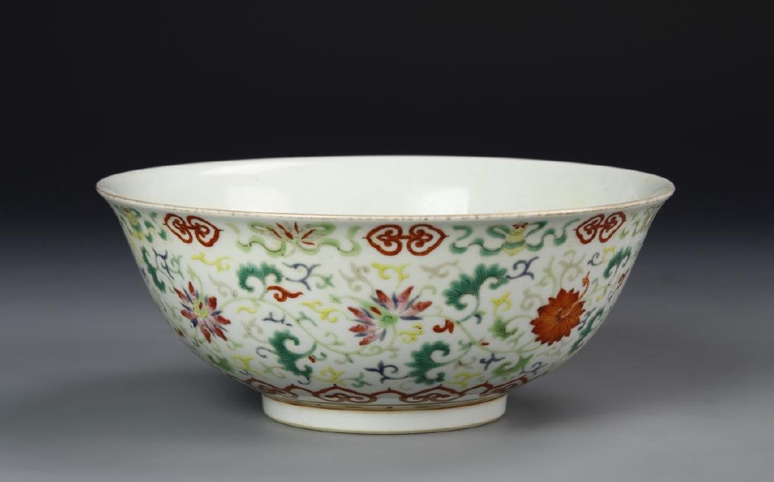 Chinese Famille Rose Bowl - 2