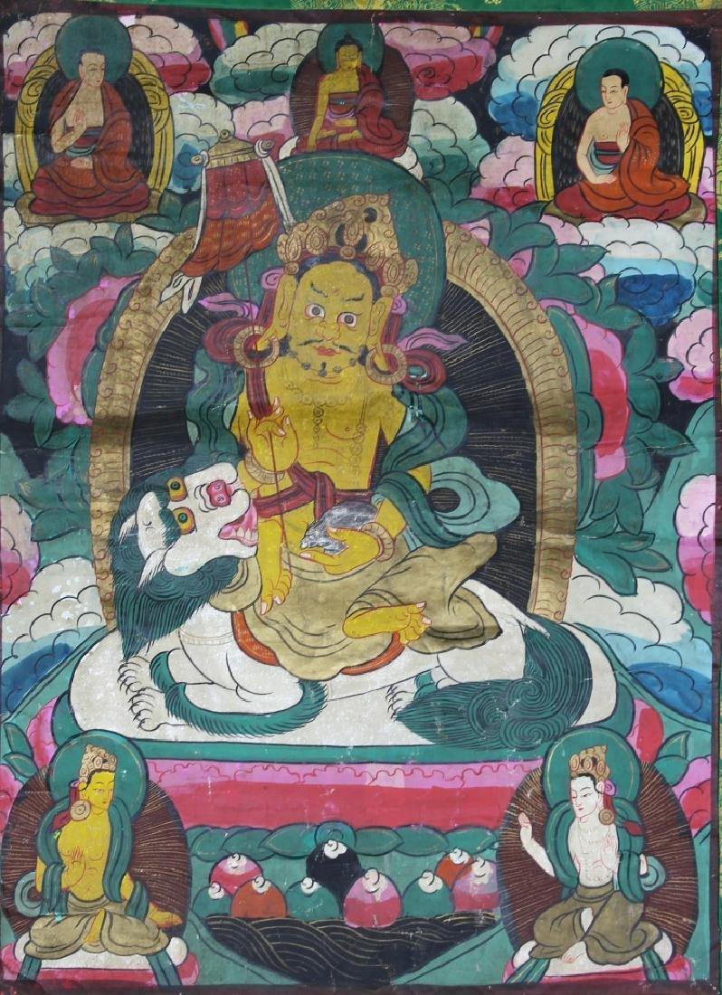 Chinese Tibetan Thangka