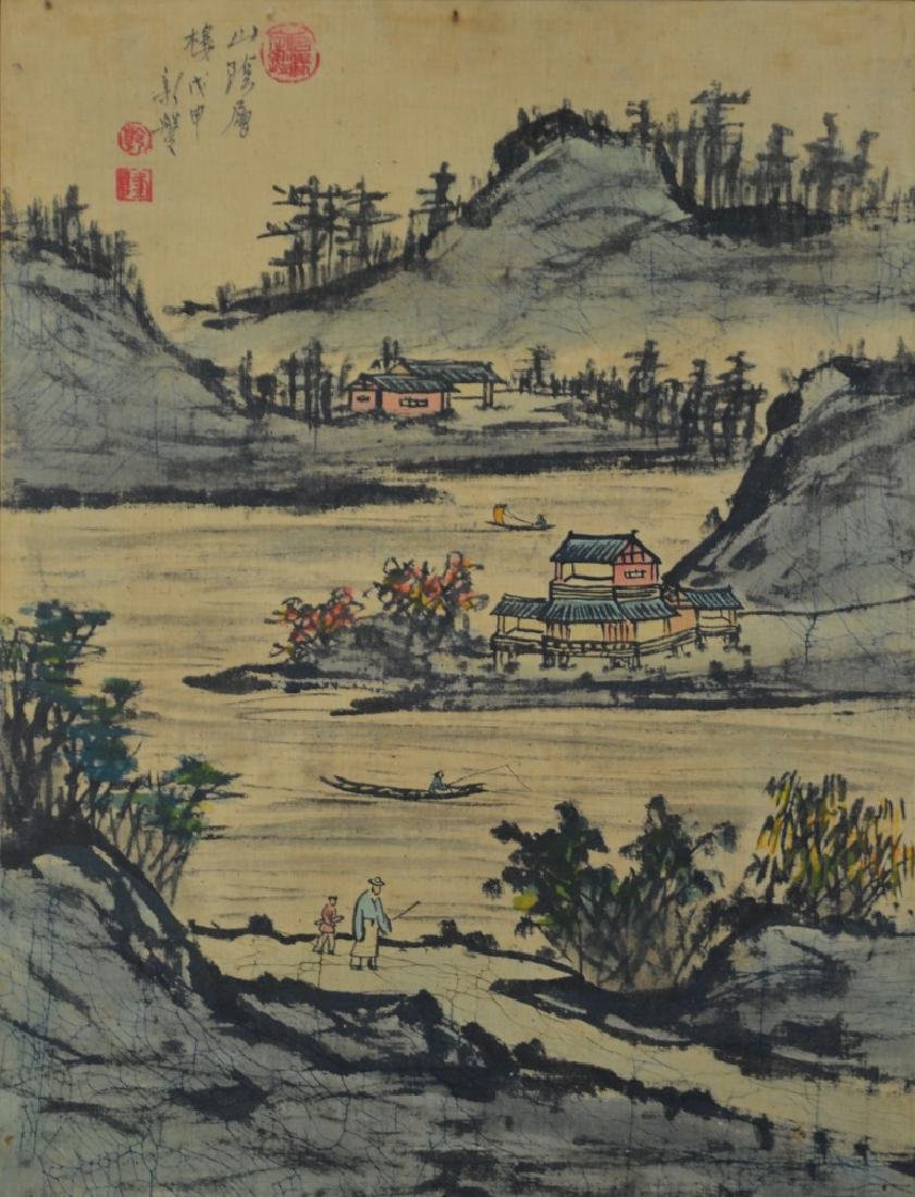 Chinese Cloth Painting