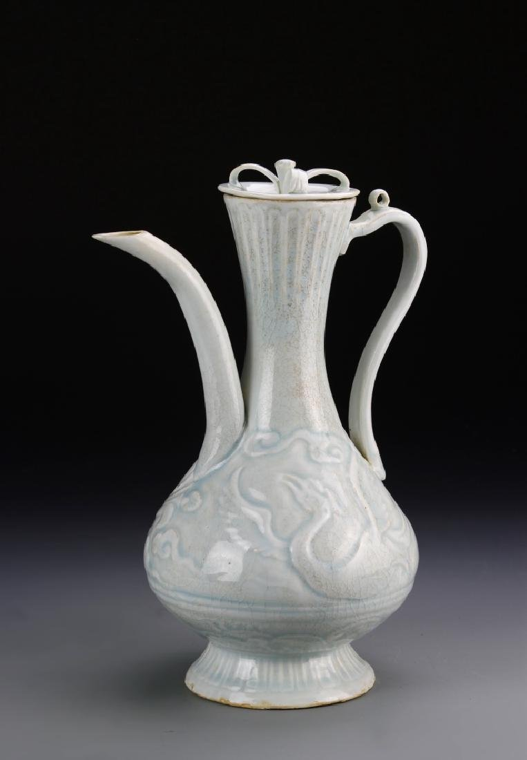 Chinese Ying Qing Ware Teapot