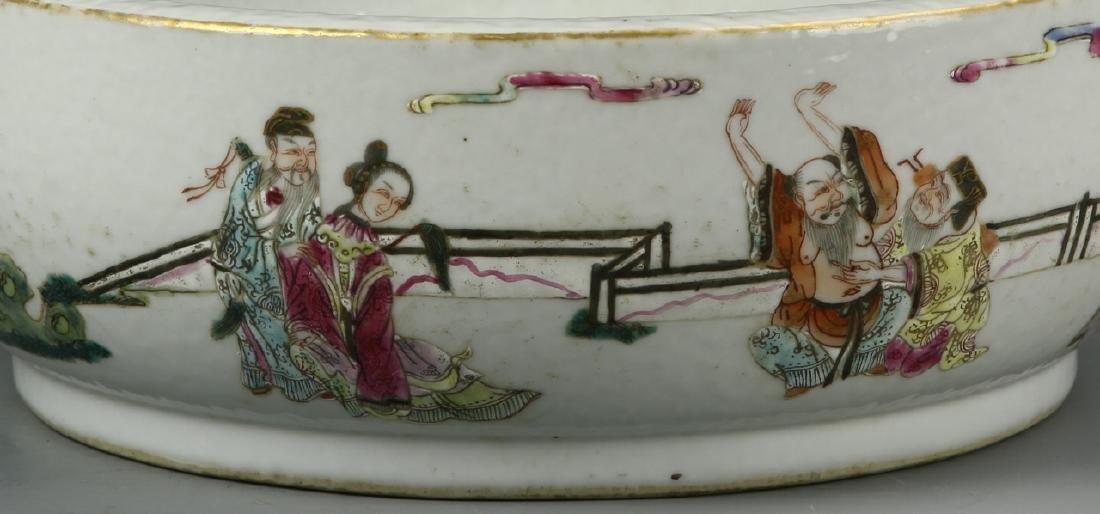 Chinese Famille Rose Brush Washer - 2
