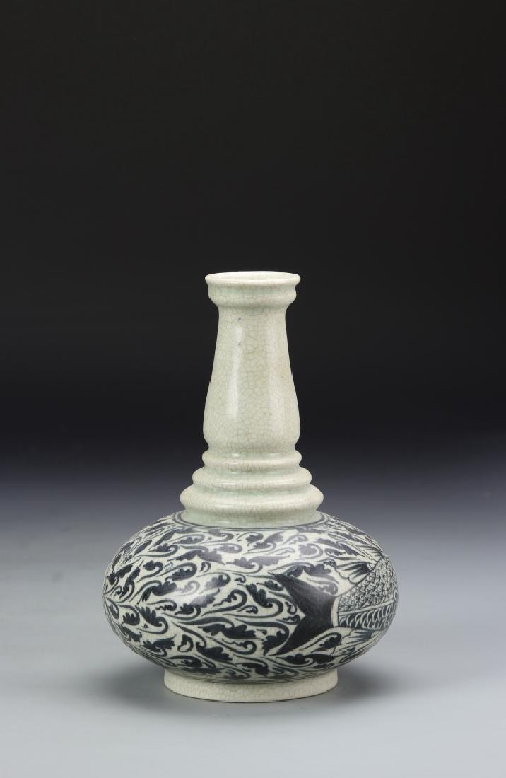 Vietnamese Blue And White Vase