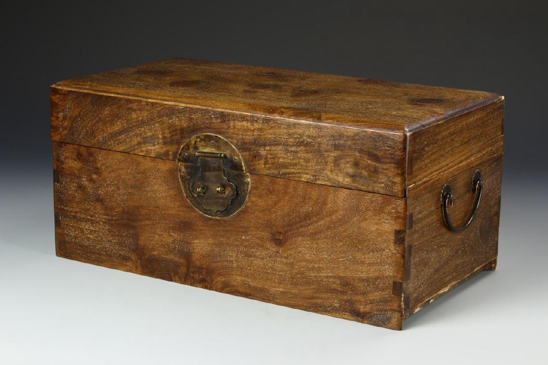 Chinese Huanghuali Scholar's Box