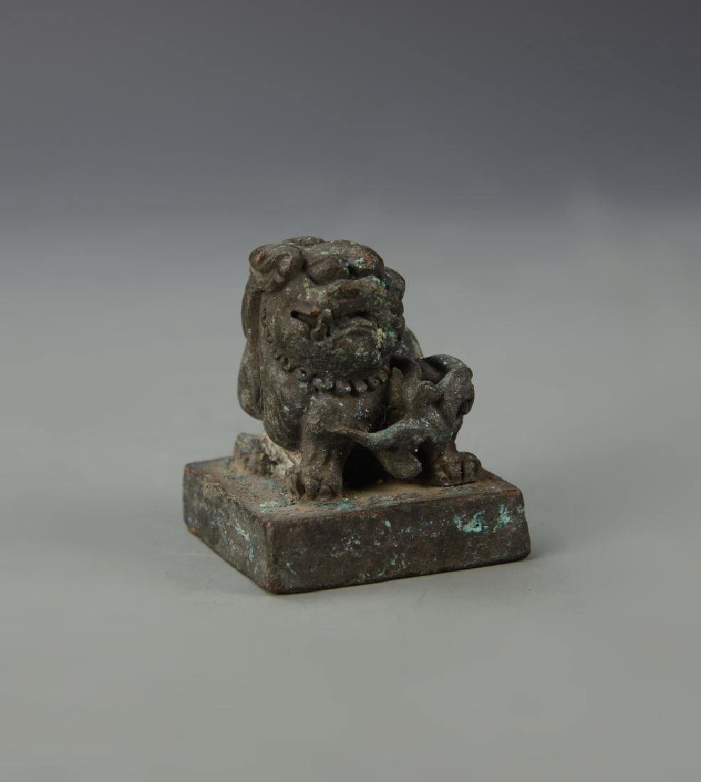 Chinese Antique Bronze Seal
